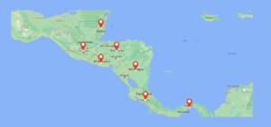 Cobertura en Centro America Indusfrancia Calidad en ventas y rentas
