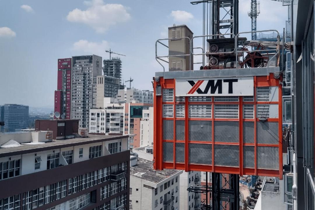 Elevador de Obra Marca XMT Indusfrancia Calidad en Ventas Y rentas
